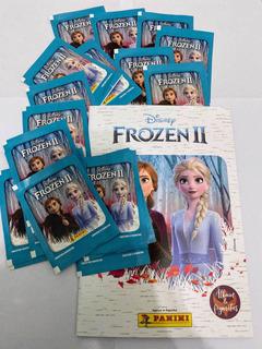 Figuritas Frozen 2 Pack Por 25 Sobres + Album Año 2020