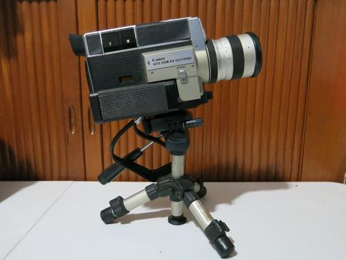 Câmera Filmadora Canon Super 8 + Filme
