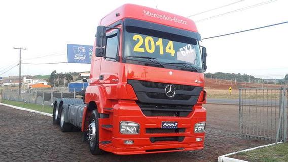 Mercedes-benz Axor 2544 Ano 2014