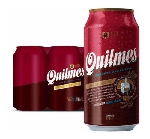 Cerveza Quilmes Bock Lata 473 Ml X6 - Perez Tienda -