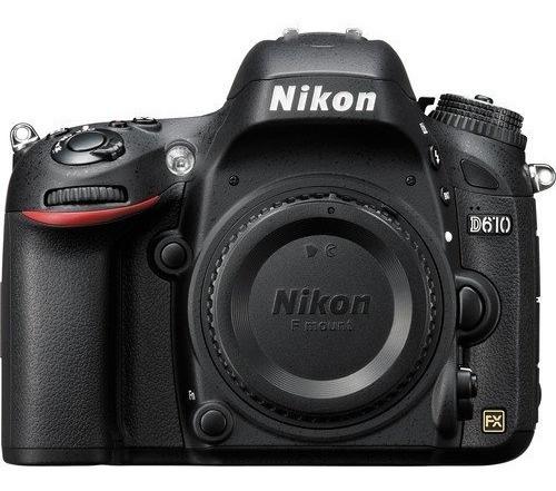 Câmera Nikon D610 Dslr (somente Corpo) 24.3mp Full Frame