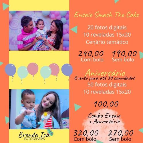Fotografia Ensaio + Aniversário