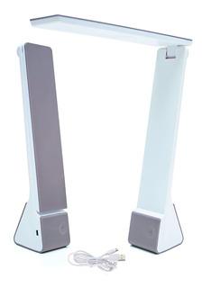 Velador Led Touch Recargable Usb Lampara Luz Fria Y Calida