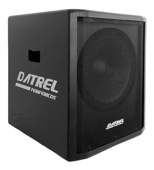 Caixa Sub 15 Ativa Datrel 400w Rms Audio Profissional Oferta