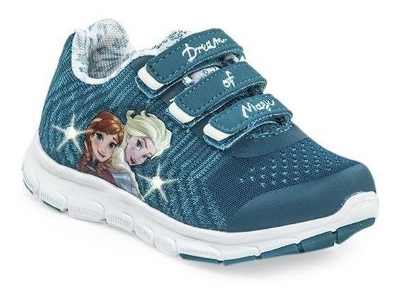 Addnice Zapatillas Flex Frozen Velcro Snow Turquesa