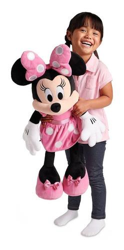 Peluche Minnie Mouse Gigante 70cm Original Disney Store Rosa