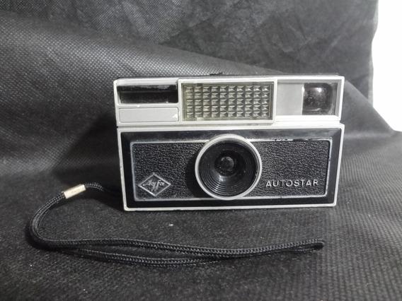 Câmera Antiga Fotografica Agfa Autostar X - 126