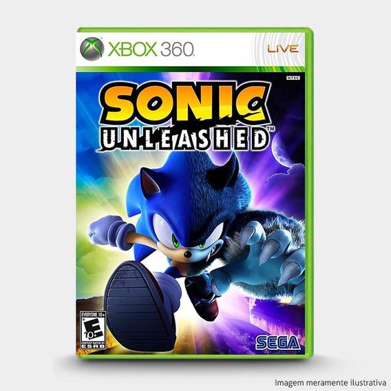 Sonic Unleashed - Original Xbox 360 - Novo