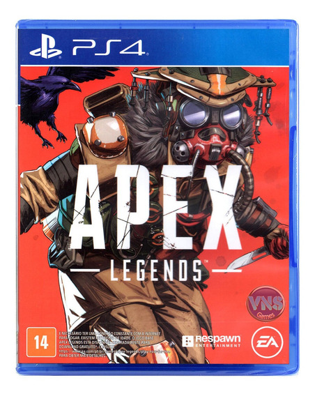Apex Legends - Edição Bloodhound - Ps4 - Novo - Mídia Física