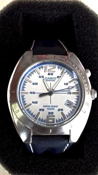 Casio Reloj Caballero Edifice Neon Iluminator Original