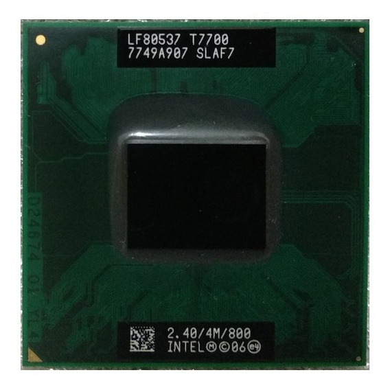 Intel Core 2 Duo T7700 2.4ghz Notebook - Gasile Processors