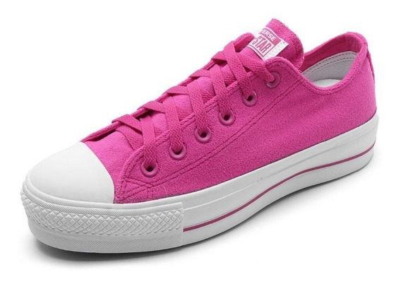 Tênis All Star Plataforma Pink Ct11960002 Original C/nota