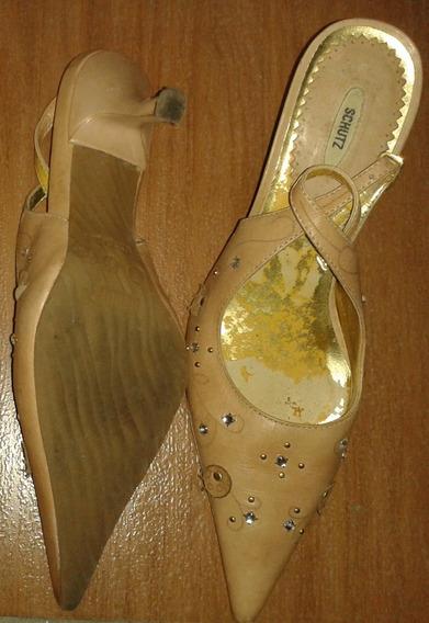 Sapato Chanel Schutz Nº 37 Cód Cl143