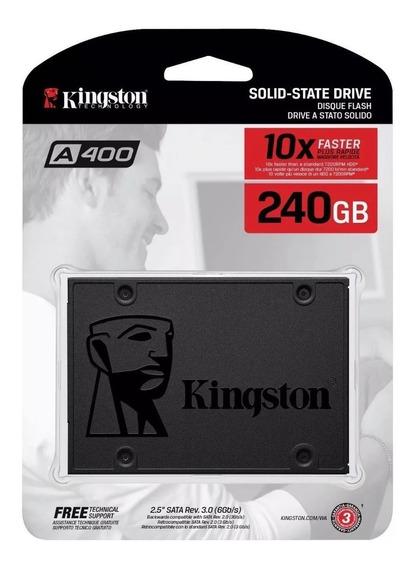 Hd Ssd Kingston 240gb 6gb/s A400 Pc Notebook Nf-e