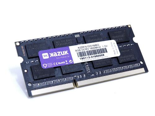 Imagem 1 de 4 de Memória Notebook Kazuk 8gb - 1600 Mhz Ddr3 Ram Kzrn-d3168g