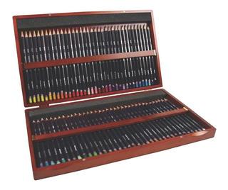 Set De 72 Lápices Colores Studio Caja 3mm Madera Arte Dibujo