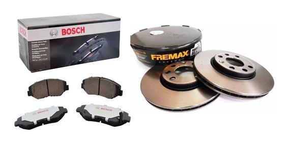 Pastilha Bosch Cerâmica Disco Fremax Carbon Vw Up 1.0 Tsi