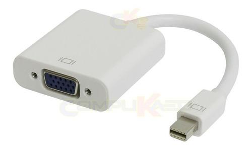 Adaptador Mini Displayport Dp A Vga De Laptop A Tv Lcd Proye