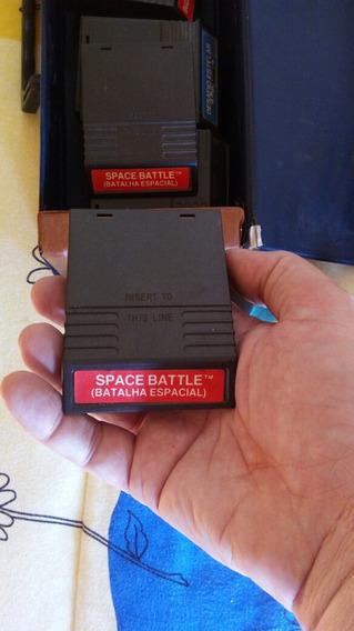 Game Antigo Batalha Espacial Para Intelevision.