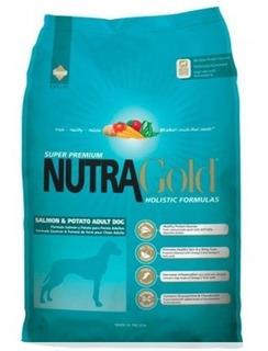 Alimento Perro Nutra Gold Salmon Hipoalergenico