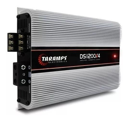 Modulo Taramps Ds 1200x4 1200w Rms 4 Ch 2 Ohms Amplificador