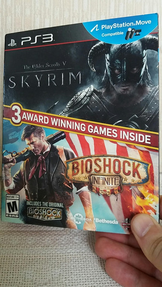 Skyrim + Bioshock Infinite - Ps3