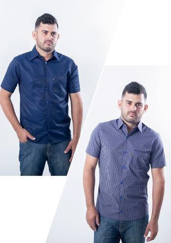 Camiseta Tradicional Manga Curta Lote Com 5 - Peça Já