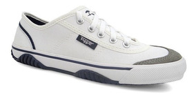 Tenis Futsal New Casual Iii 4124642 Topper (01) - Branco/azu