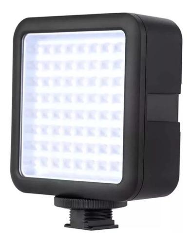 Imagen 1 de 5 de Luminador Led Godox Led64 Panel De Luz 5600k Ideal Video