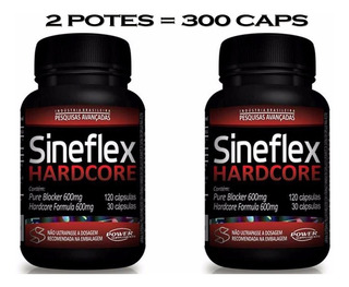 Combo: 2x Sineflex Hardcore + 1x Dilatex 152caps