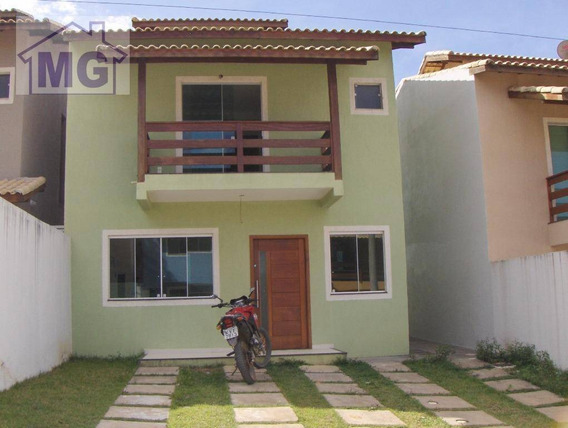 Casa Com 3 Dormitórios À Venda, 127 M² Por R$ 450.000,00 - Granja Dos Cavaleiros - Macaé/rj - Ca0068