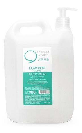 Shampoo Low Poo Nov Rulos Y Ondas X 1900ml Apto Curly Girl