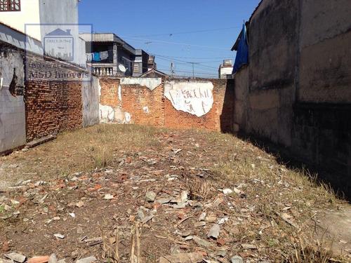 Imagem 1 de 4 de Terreno A Venda No Bairro Parque Santo Antônio Em Guarulhos - 3209-1