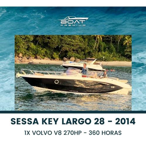 Imagem 1 de 9 de Sessa Key Largo 28, 2014, 1x Volvo V8 270hp - Oceanic -couga