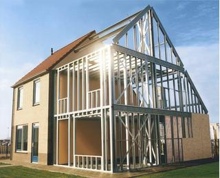 Casas Em Steel Frame - Chave Na Mão