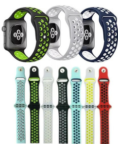 Pulseira Silicone Furo Nike Para Apple Watch Series 1 2 3 4