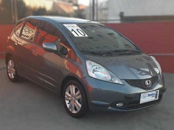 Honda Fit 1.5 Ex 2010 - Couro + Ar Digital + Rodas Liga 16