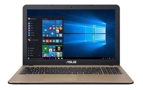 Notebook Asus X540ua-gq1436 15.6 Intel Core I3-7020u Preto
