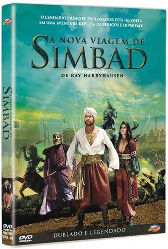 Imagem 1 de 2 de Dvd A Nova Viagem De Simbad - Classicline - Bonellihq M20