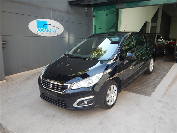 Peugeot 408 408 Business Thp 2018 Preto C/ 12 Mil Kms