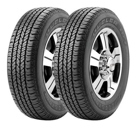 Kit X2 265/60 R18 Bridgestone Dueler Ht684 + Envío Gratis