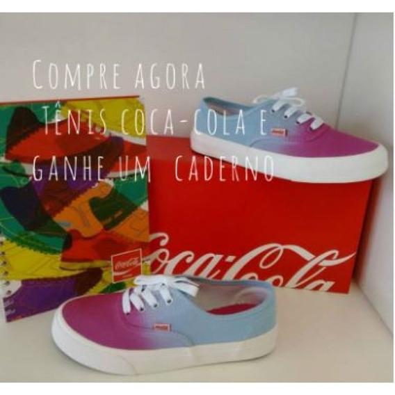 Tênis Coca Cola Kick Onbre Cc0762 - Rosa