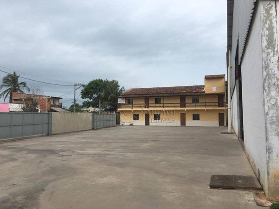 Galpão À Venda, 2500 M² Por R$ 4.000.000 - Lagomar - Macaé/rj - Ga0065