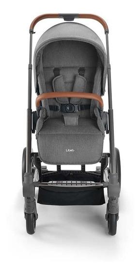 Carrinho De Bebê Rover 6m Até 15kg Cinza Litet - Bb671