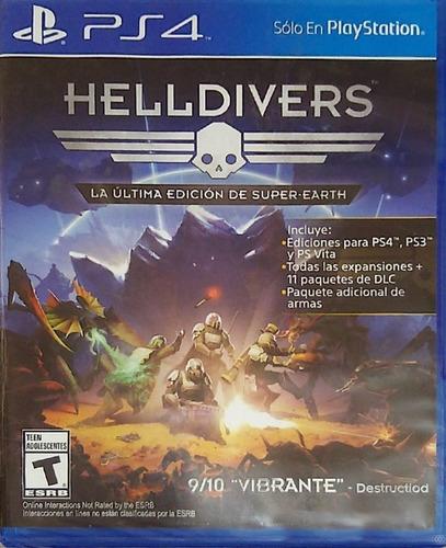 Helldivers Ps4 Nuevo Sellado Fisico! Sb