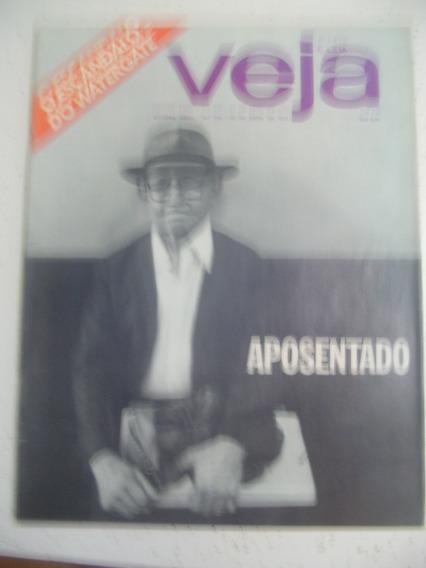 Revista Veja 242 Nudismo Balé Dener Sfat Figueroa Inter 1973