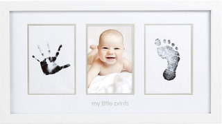 Cuadro Fotos Y Huellas Bebes, Pearhead Newborn