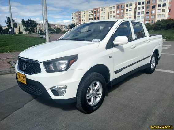 Ssangyong Actyon Sports Mt 2000cc Td Aa 4x4