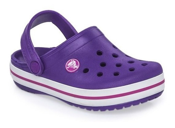 Crocs Originales Crocband Kids Violeta Purpura | Nena
