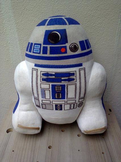 Boneco R2d2 Pelúcia 31 Cm - Star Wars - Multibrink (usado)